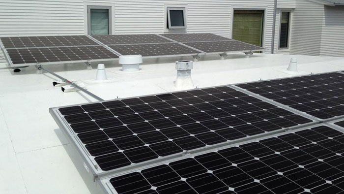 solar panel systems 700